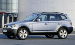 BMW Models at TrueDelta: 2006 BMW X3 exterior