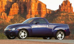 Convertible Models at TrueDelta: 2006 Chevrolet SSR exterior