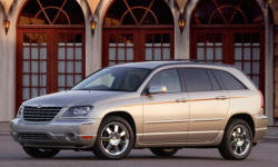 Chrysler Models at TrueDelta: 2006 Chrysler Pacifica exterior