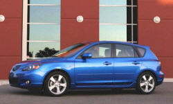 Hatch Models at TrueDelta: 2006 Mazda Mazda3 exterior