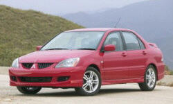 Mitsubishi Models at TrueDelta: 2006 Mitsubishi Lancer / Evolution exterior