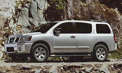 Nissan Armada Gas Mileage (MPG):