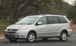 2004 Toyota Sienna brake Problems