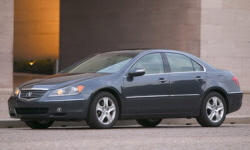 2005 Acura RL Repair Histories