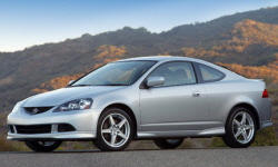 Hatch Models at TrueDelta: 2006 Acura RSX exterior
