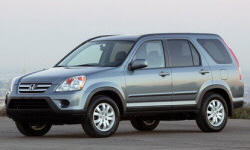 Honda Models at TrueDelta: 2006 Honda CR-V exterior