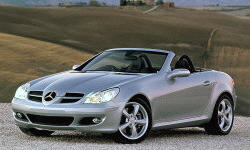 Convertible Models at TrueDelta: 2008 Mercedes-Benz SLK exterior