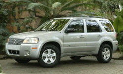 Mercury Models at TrueDelta: 2007 Mercury Mariner exterior