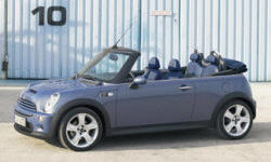 Convertible Models at TrueDelta: 2008 Mini Convertible exterior