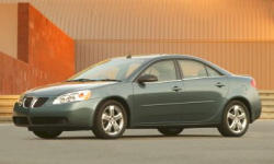 Coupe Models at TrueDelta: 2009 Pontiac G6 exterior