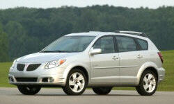 Hatch Models at TrueDelta: 2008 Pontiac Vibe exterior