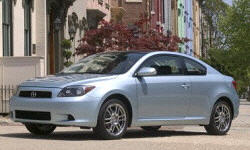 Hatch Models at TrueDelta: 2010 Scion tC exterior