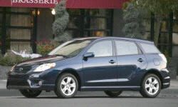2003 - 2008 Toyota Matrix Reliability by Generation