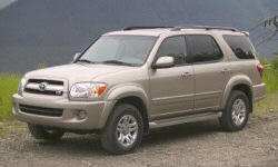 SUV Models at TrueDelta: 2007 Toyota Sequoia exterior