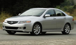 2008 Acura TSX Repair Histories