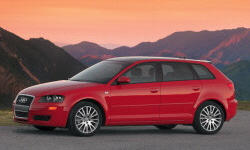 Hatch Models at TrueDelta: 2008 Audi A3 exterior