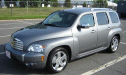 2006 Chevrolet HHR Paint, Rust, Leaks, Rattles, and Trim Problems: photograph by
