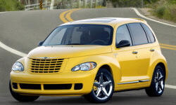 Wagon Models at TrueDelta: 2009 Chrysler PT Cruiser exterior