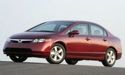 Coupe Models at TrueDelta: 2008 Honda Civic exterior