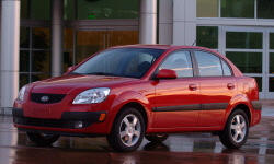 Hatch Models at TrueDelta: 2009 Kia Rio exterior