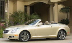 Convertible Models at TrueDelta: 2010 Lexus SC exterior