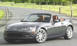 Convertible Models at TrueDelta: 2008 Mazda MX-5 Miata exterior