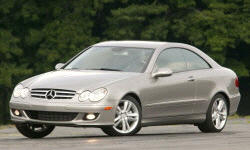 Convertible Models at TrueDelta: 2009 Mercedes-Benz CLK exterior