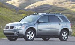 Pontiac Models at TrueDelta: 2007 Pontiac Torrent exterior