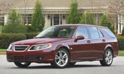 Wagon Models at TrueDelta: 2009 Saab 9-5 exterior