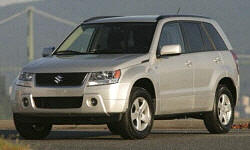 SUV Models at TrueDelta: 2008 Suzuki Grand Vitara exterior