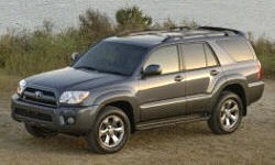 2007 Toyota 4Runner Brakes and Traction Control Problems
