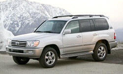 SUV Models at TrueDelta: 2007 Toyota Land Cruiser exterior