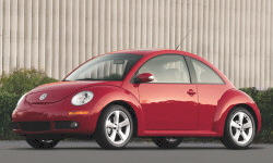 Convertible Models at TrueDelta: 2010 Volkswagen New Beetle exterior