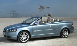 Convertible Models at TrueDelta: 2010 Volvo C70 exterior