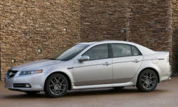 2004 - 2008 Acura TL Reliability by Generation