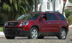2007 - 2009 GMC Acadia Reliability by Generation