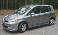 Honda Fit Gas Mileage (MPG): photograph by