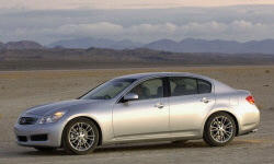 Coupe Models at TrueDelta: 2009 Infiniti G exterior