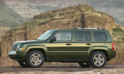 Jeep Models at TrueDelta: 2010 Jeep Patriot exterior