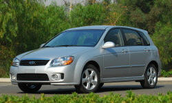 Hatch Models at TrueDelta: 2009 Kia Spectra exterior