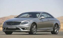 Coupe Models at TrueDelta: 2010 Mercedes-Benz CL-Class exterior