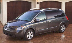 Nissan Models at TrueDelta: 2009 Nissan Quest exterior