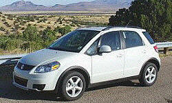 2007 Suzuki SX4 transmission Problems: photograph by