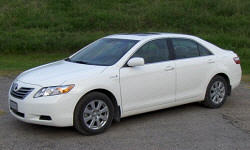 Toyota Camry Specs: photograph by