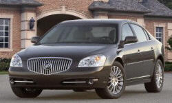 Buick Models at TrueDelta: 2011 Buick Lucerne exterior