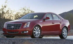 2008 - 2013 Cadillac CTS Reliability by Generation