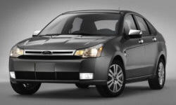 Coupe Models at TrueDelta: 2010 Ford Focus exterior