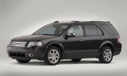 Wagon Models at TrueDelta: 2009 Ford Taurus X exterior