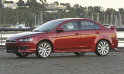 Hatch Models at TrueDelta: 2014 Mitsubishi Lancer exterior