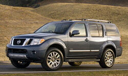2008 Nissan Pathfinder transmission Problems